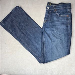 7 for all mankind 25 waist jeans